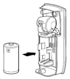 ISB - batérie pre fotobunky spôsobu inštalácie NICE FTA1